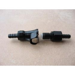 Conector/disconector rapido tubo de gasolina