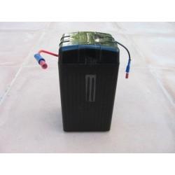 Gelbatterie CLASSICDEPARTMENT  12 V 4 Ah schwarz wartungsfrei