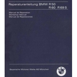Manual de reparaciones BMW R 50 - 69 S