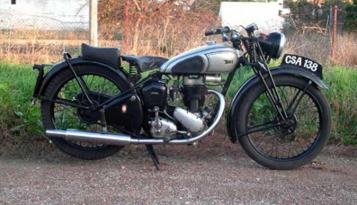 BSA C 11, 1946, 250 cc OHV