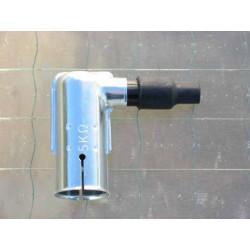 Spark plug pipe
