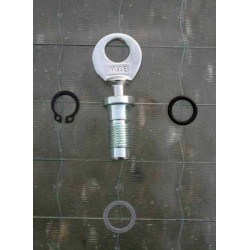 Battery cover lock assy BMW R 26/27