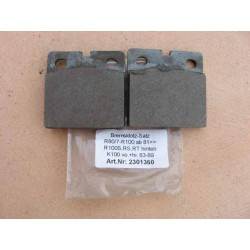 Brake pads BMW R 80/7 - R 100, 1981 onwards