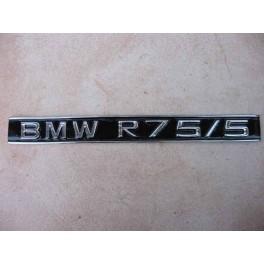 Engine ID plate BMW R 75/5