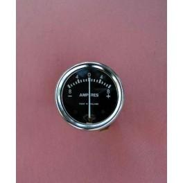 Amperemeter 6V 1 3/4 zoll schwarz