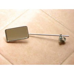 Mirror BUMM rectangular with clamp