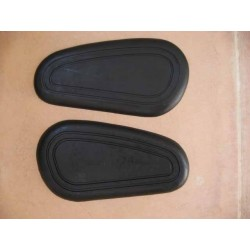 Knee grip rubbers BMW R 26/27, pair