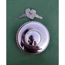 Petrol cap BMW R 24 - 69S with lock and lock cover