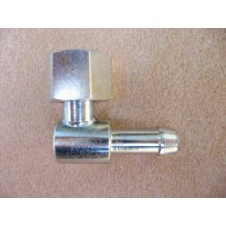 "Elbow c/w 1/4"" free nut"