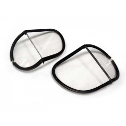Replacement split lenses clear polycarbonate