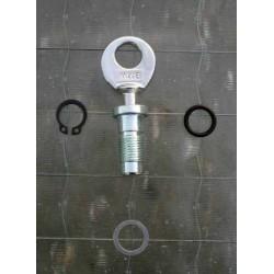 Conjunto cerradura cajon de herramientas BMW R 25, R 25/2, R 26, R 27, R 51/3 - R 68