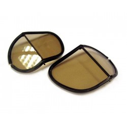 Replacement split lenses tinted polycarbonate