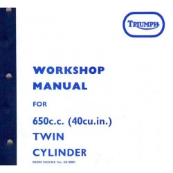 Workshop Manual TRIUMPH T 120 and TR 6