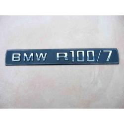 Engine ID plate BMW R 100/7