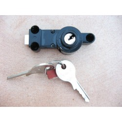 Toolbox lock assy BMW R 25/3, R 50 - 69S