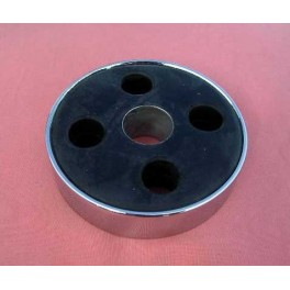 Drive shaft connection rubber with chrome ring BMW R 25 - R 25/3