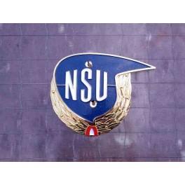 "Insignia deposito NSU Max ""corona de laurel"" hizq."