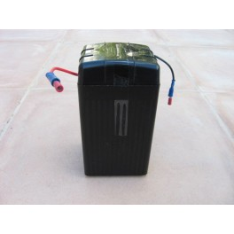Batteria de Gel CLASSICDEPARTMENT negra 12V 4Ah sin mantenimient