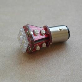 LED birne weiss/rot 21/5 Watt Rücklicht BMW R 27, R 50 - 69S