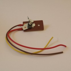 Mecanical cable light switch head lamp