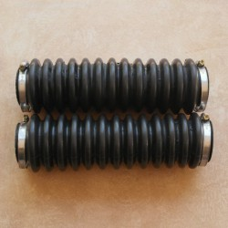 Fork boot rubber and fixing clamp assy  BMW R 50/5 - R 75/5