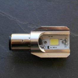 LED bulb 6 V 35/35 W BA 20D fitting for head lamp