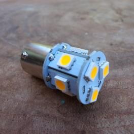LED 6V BA 15 S color amarillo