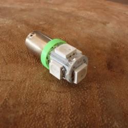 LED 6V BA9S verde luz de control EXTRA