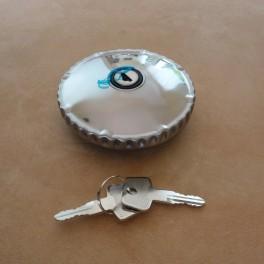 Petrol tank cap BMW R 24 - 69S with lock