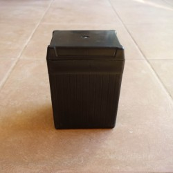 Battery dummy box black with cover