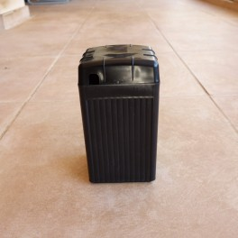 Battery dummy box black with cover small