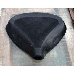 Saddle cover DRILLASTIC BMW R 12