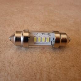 LED tipo Sofite blanco 6V 10 x 36 para luz de posicion