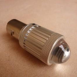 LED bulb LASER PROJECTOR type 6 V BA 20 D VINTAGE