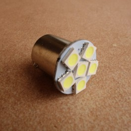 LED bulb 6V white BA15S MINI