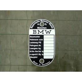 Typenschild BMW R 24 - 69S