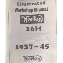 Workshop Manual NORTON 16 H 1937 - 1945