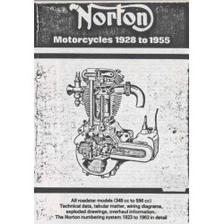 NORTON Motorcycles 1928 - 1955