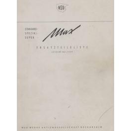 Spares Catalogue NSU MAX