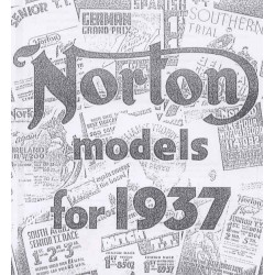 NORTON Sales Brochure 1937