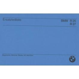 Catalogo de recambio BMW R 26 y R 27