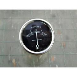 Amperemetro esfera negra 6V 2 pulgadas