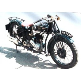 ARIEL, 1927, 557 cc SV