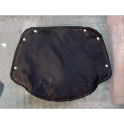 Seat cover for pillion sprung seat Lycett type