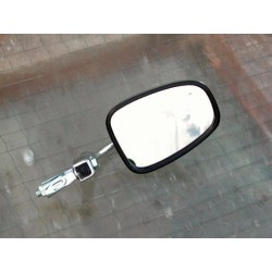 Bar end mirror