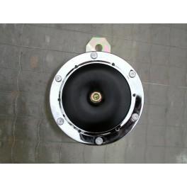 Claxon cromado/negro 12 V