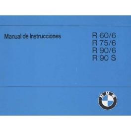 Manual de Instrucciones BMW R 60/6 - R 90 S