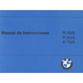 Manual de Instrucciones BMW R 50/5 - R 75/5