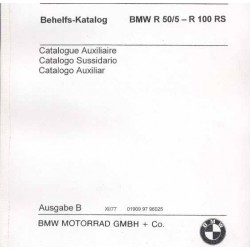Catalogo de recambio BMW R 50/5 - R 100 RS