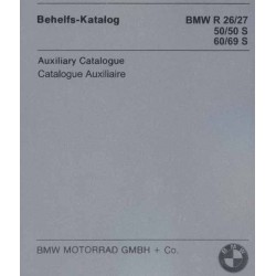 Spares catalogue BMW R 26 - R 69 S